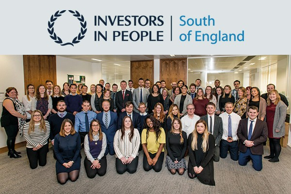 The Oak Tree Mobility team celebrate the Investors in People Award.