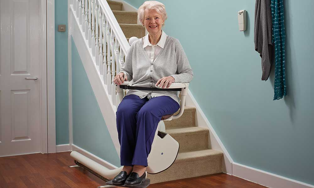 Stairlifts are mobility devices that are specially designed to carry people up and down the stairs. Each stairlift usually consists of two sections: a chair or seat and rail that is fixed to an existing staircase. As modern stairlifts are powered by electricity, they can be operated with ease.
