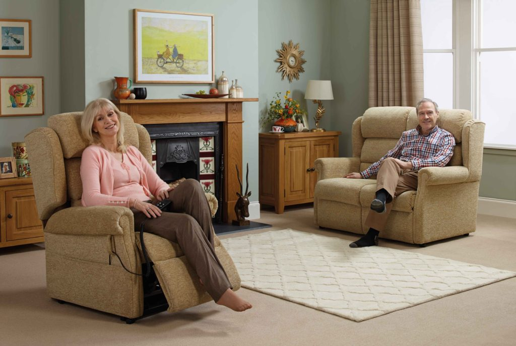 Oak tree rise and recline chairs