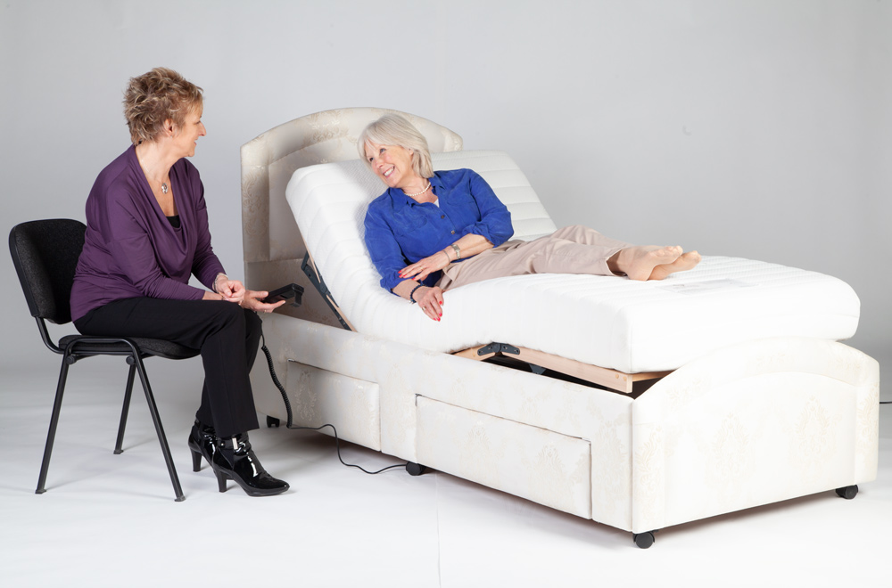 Oak Tree adjustable beds are approved by occupational therapists