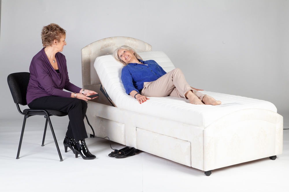 Occupational therapist approves Oak Tree adjustable beds